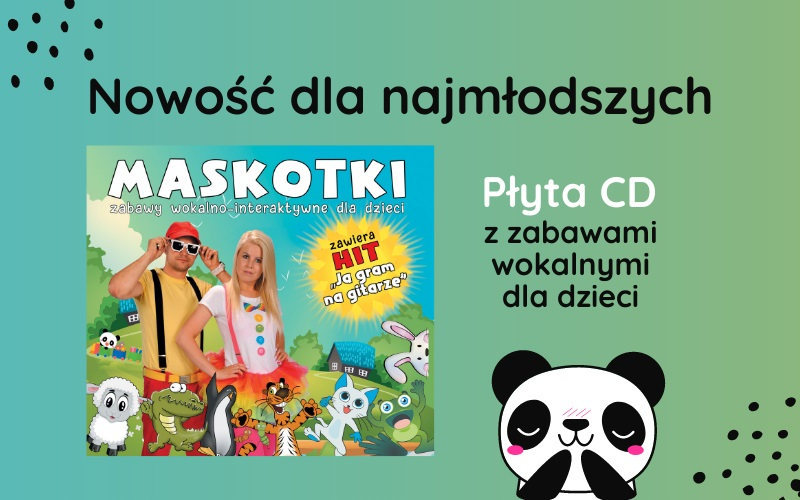 Zabawy wokalno-interaktywne dla dzieci - premiera albumu zespołu Maskotki