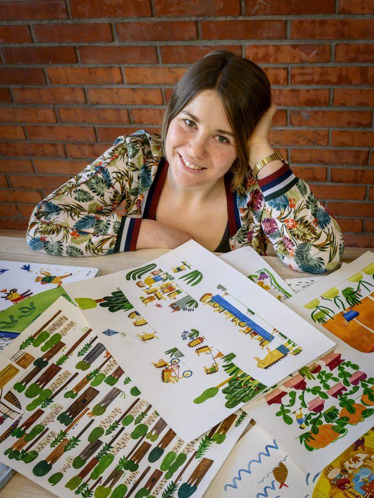 Rysowanie i bazgrolenie z Marysią Dek - warsztaty dla dzieci