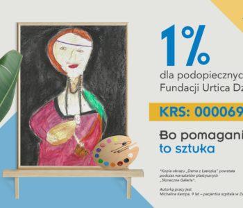 1% dla dzieci chorych na raka?