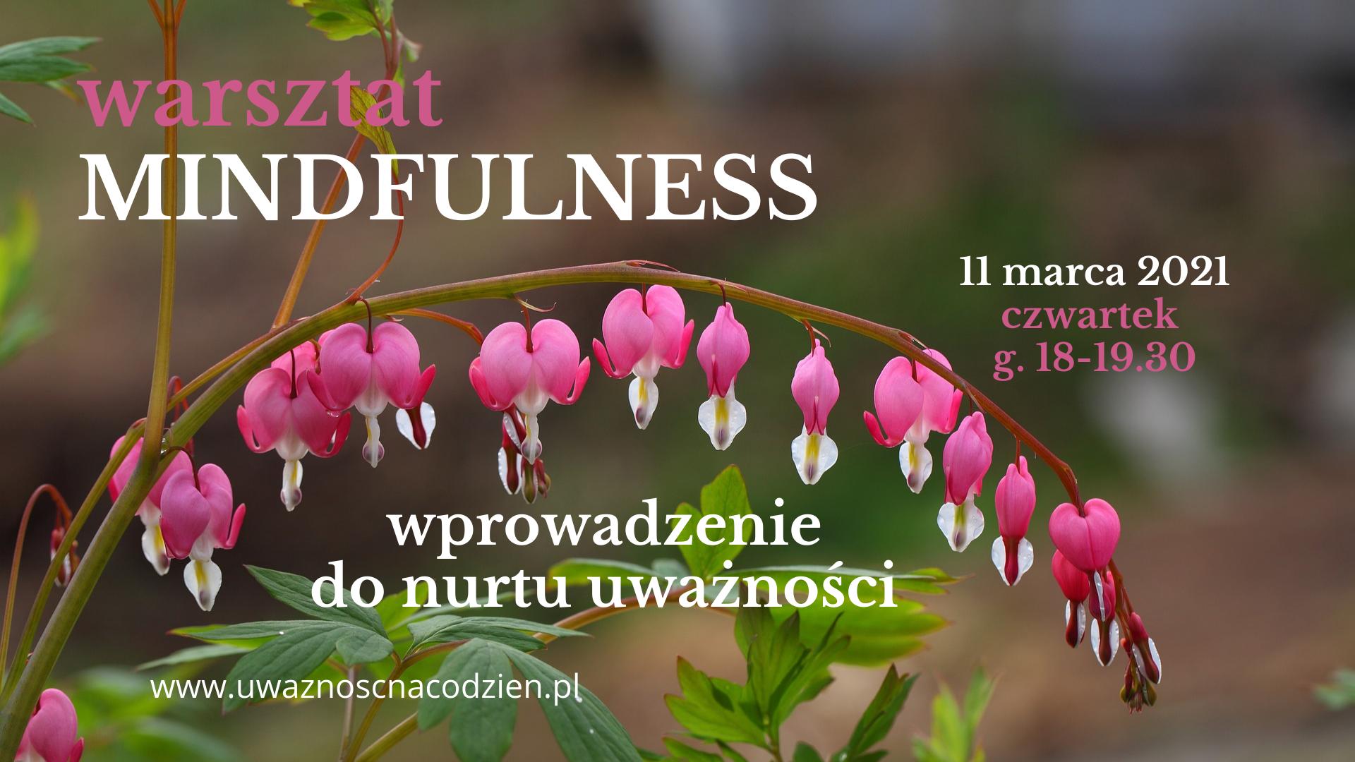 Warsztat wprowadzający do Mindfulness dla każdego