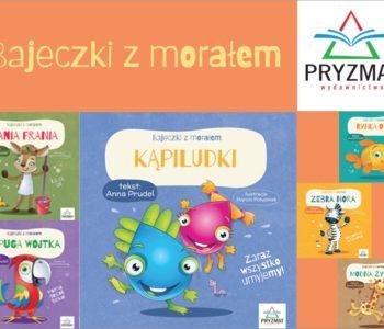 Bajeczki z morałem - seria kartonowych książeczek dla najmłodszych