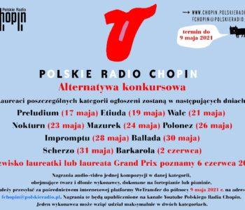 Wirtualny Konkurs Pianistyczny im. Fryderyka Chopina dla dzieci i młodzieży