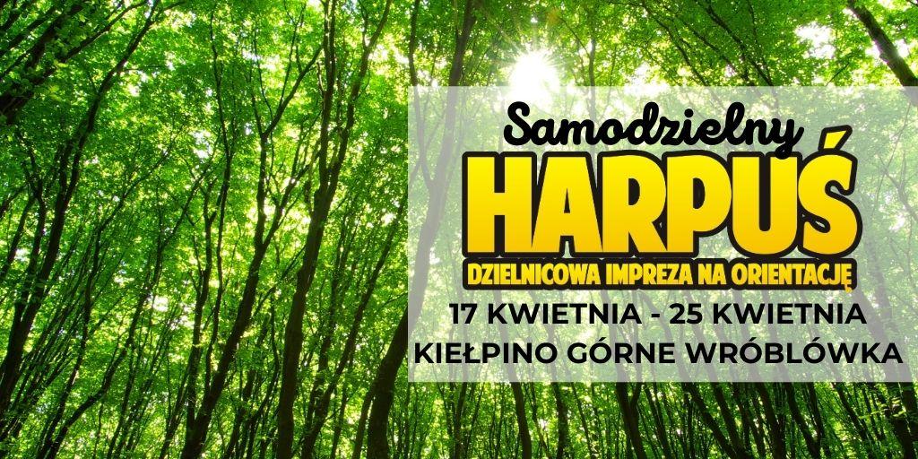 Samodzielny Harpuś - Dzielnicowa impreza na orientację: Wróblówka