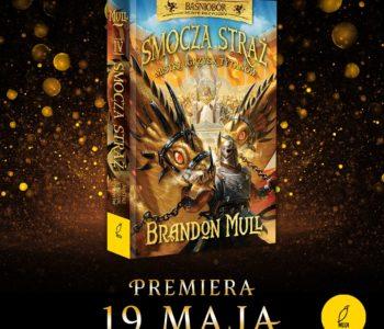 Czwarty tom serii Smocza Straż: Mistrz Igrzysk Tytanów
