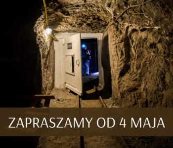 Kopalnia Soli Bochnia zaprasza od 4 maja!