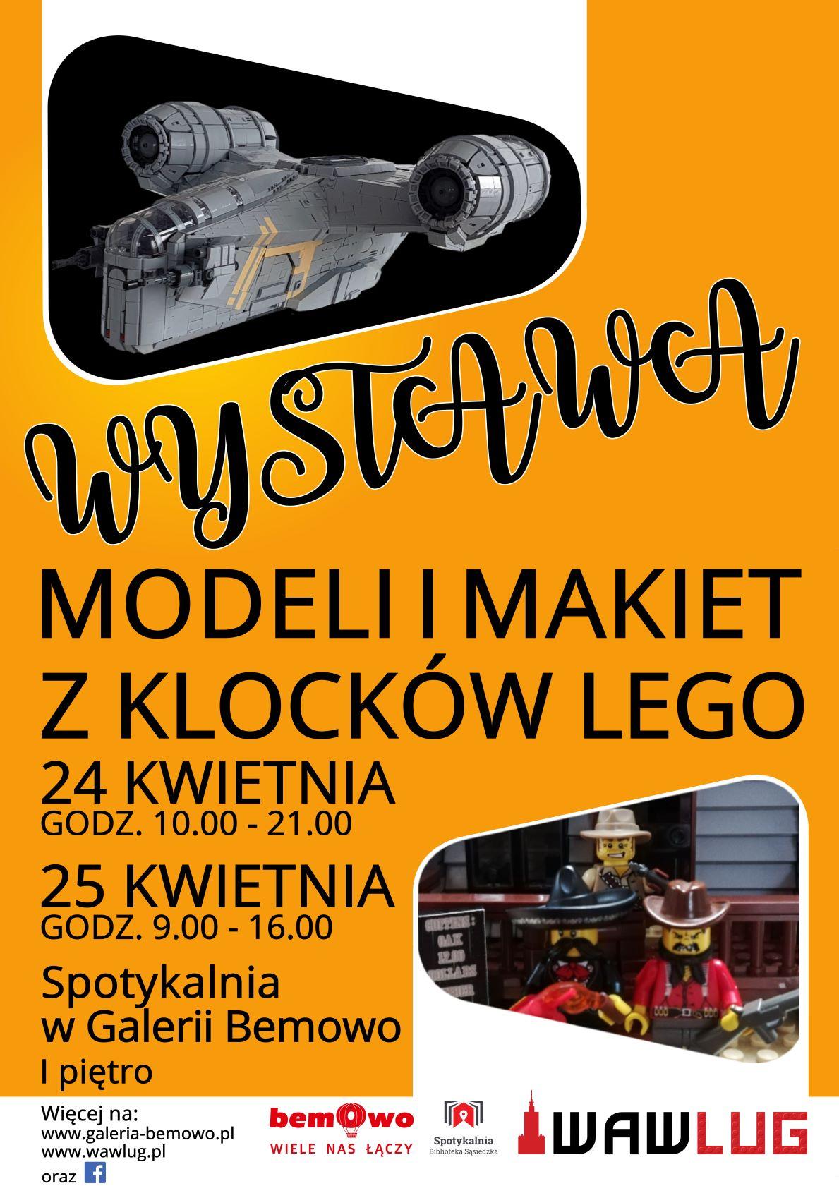 Wejdź do świata LEGO® w Galerii Bemowo