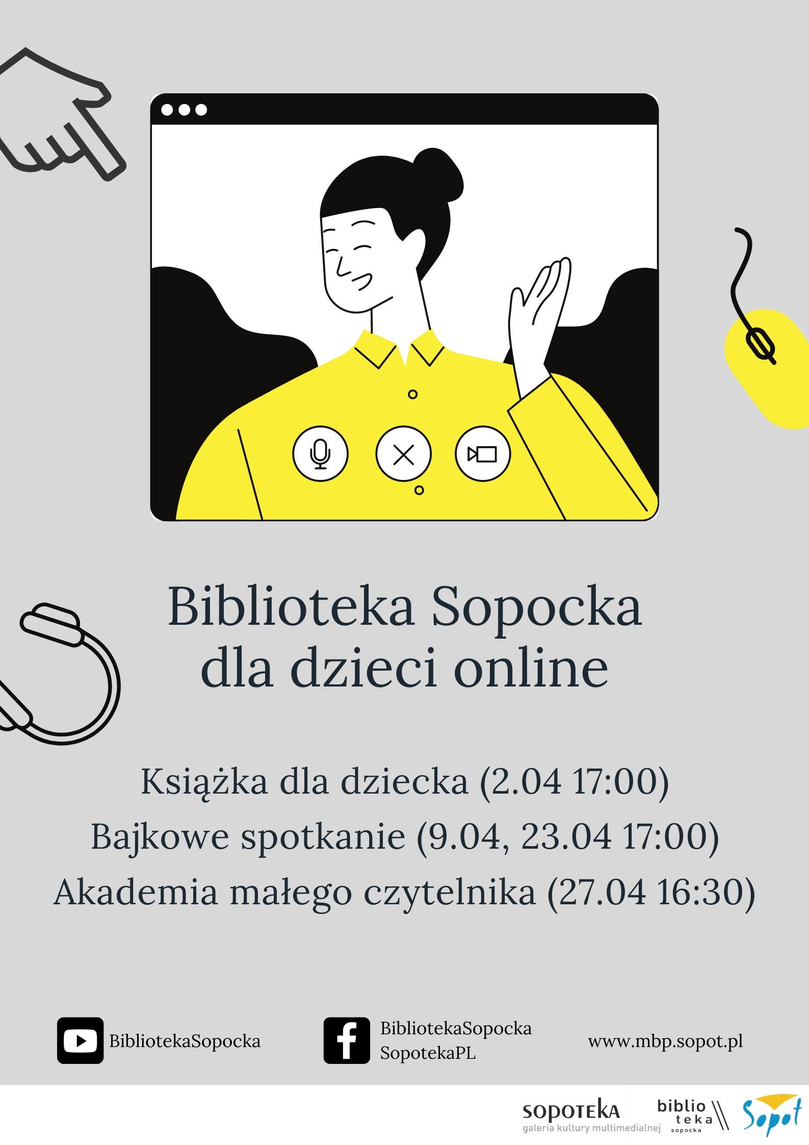 Biblioteka Sopocka dla dzieci online: Bajkowe Spotkanie