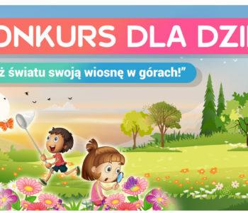Pokaż światu swoją wiosnę w górach – konkurs plastyczny dla dzieci