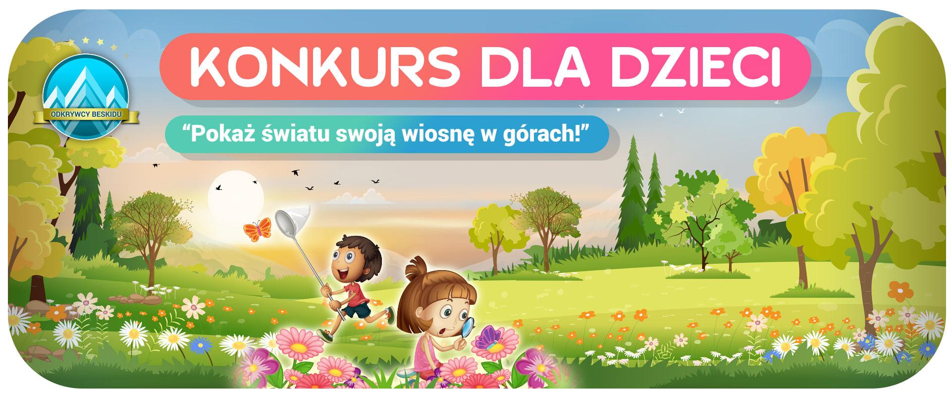 Pokaż światu swoją wiosnę w górach - konkurs plastyczny dla dzieci
