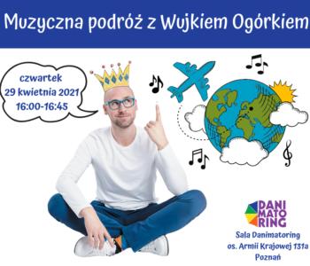Muzyczna podróż z Wujkiem Ogórkiem - spotkania dla dzieci