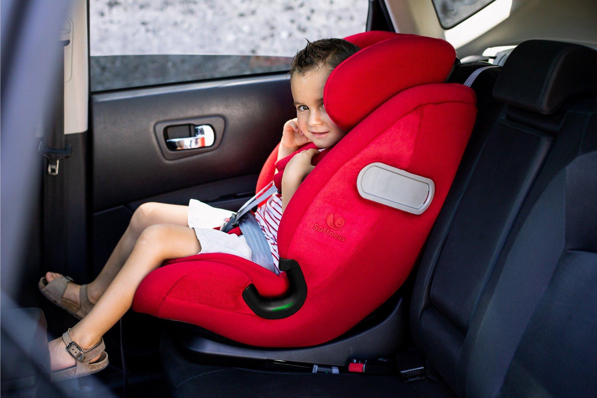Zalety fotelika samochodowego Olymp Softness® Renolux