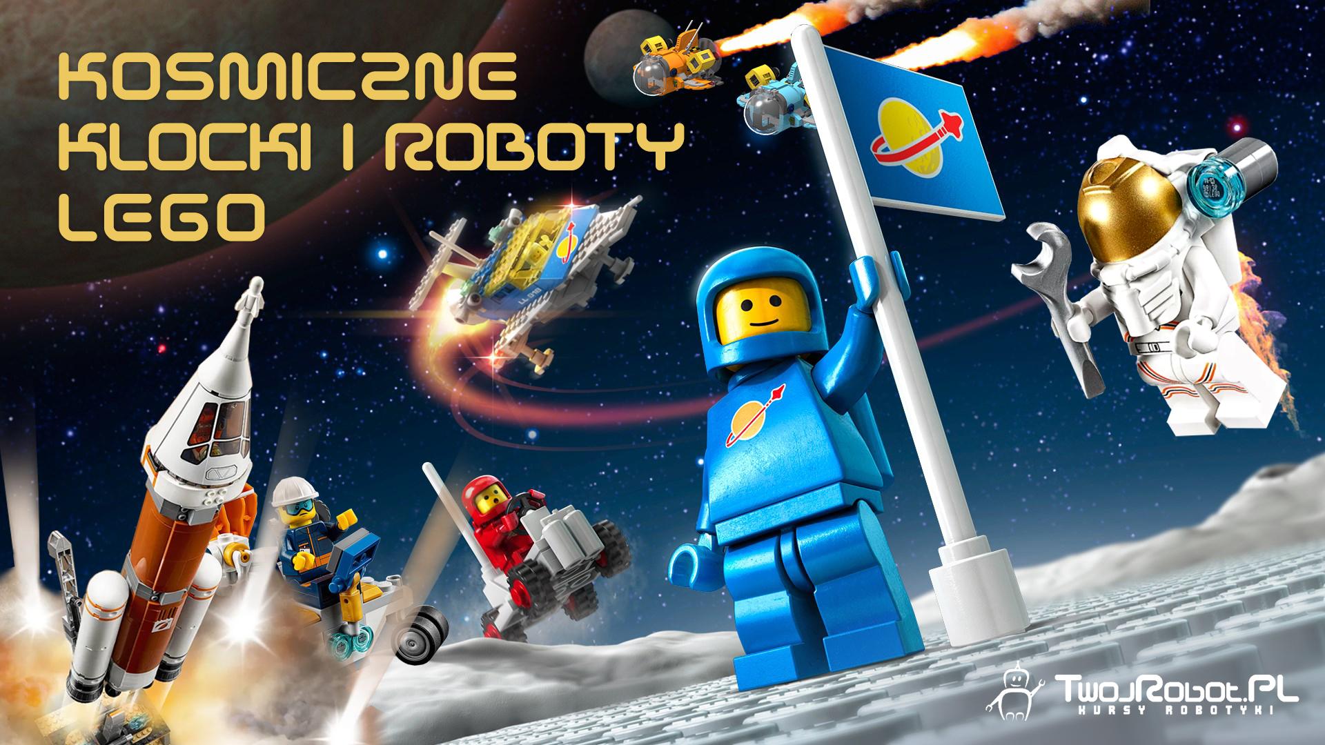 Półkolonie w Warszawie: Kosmiczne klocki i ROBOTY LEGO