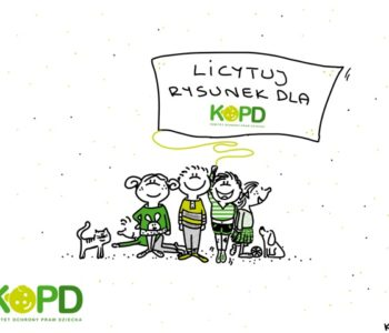 Rusza kolejna edycja: Rysownicy dla KOPD. Narysuj Świat Przyjazny Dziecku
