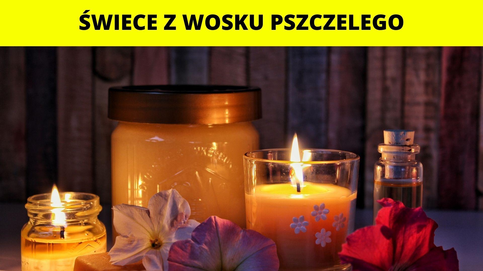 Świece z wosku pszczelego - warsztaty dla dzieci
