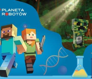 Kreatywne półkolonie z robotyką i Minecraftem