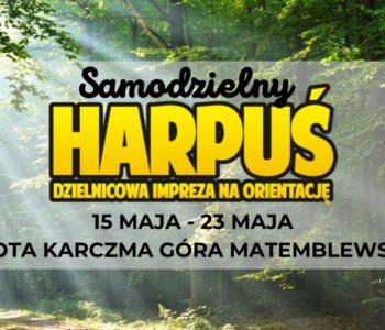 Samodzielny Harpuś – Dzielnicowa impreza na orientację: Złota Karczma