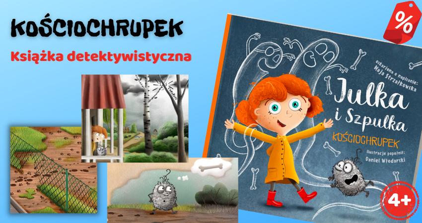 Julka i Szpulka. Kościochrupek – interaktywna książka detektywistyczna