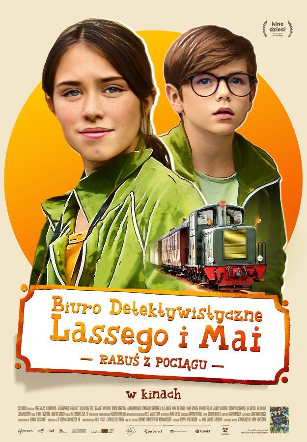 Film: Biuro detektywistyczne Lassego i Mai. Rabuś z pociągu. Gliwice