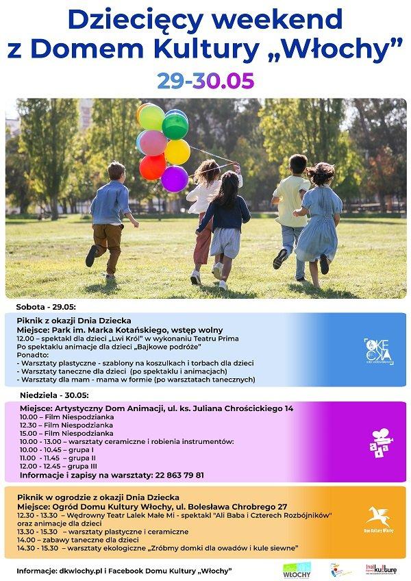 Dziecięcy weekend z Domem Kultury Włochy