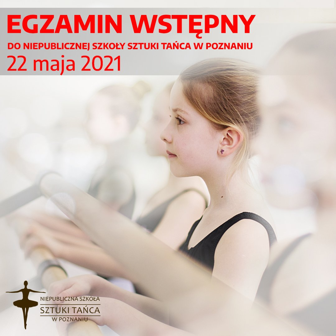 Rekrutacja do Niepublicznej Szkoły Sztuki Tańca w Poznaniu