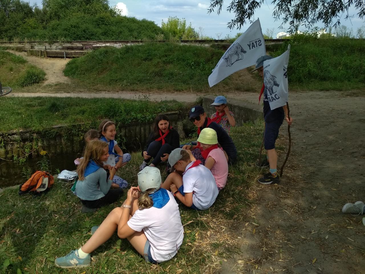 Spotkanie z lasem i Outdoor edukacja - Dzieci Puszczy