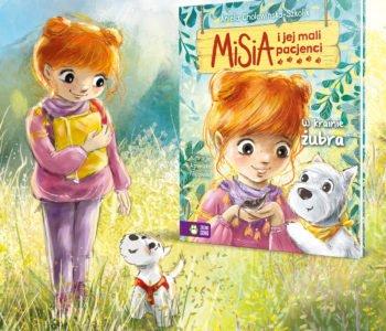Misia i jej mali pacjenci. W krainie żubra – książka dla dzieci