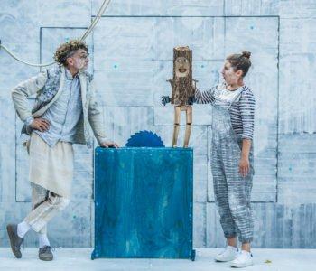 Przygody kota Filemona i Pinokio na żywo w formule online w Teatrze Baj!