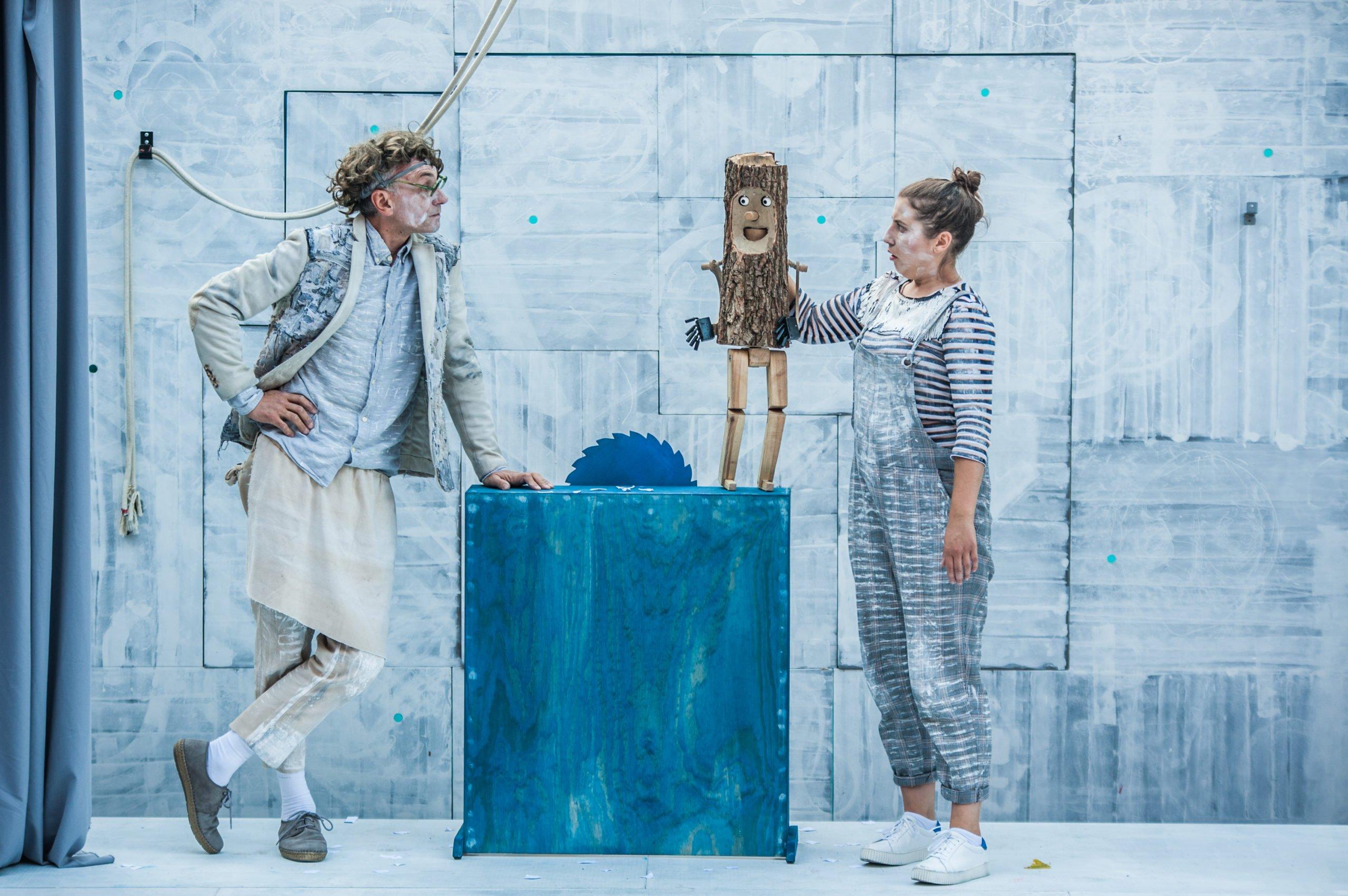 Przygody kota Filemona i Pinokio na żywo w formule online w Teatrze Baj