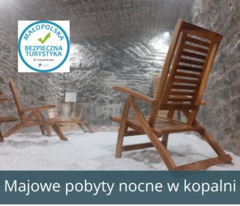 Pobyty nocne w Kopalni Soli Bochnia – maj 2021