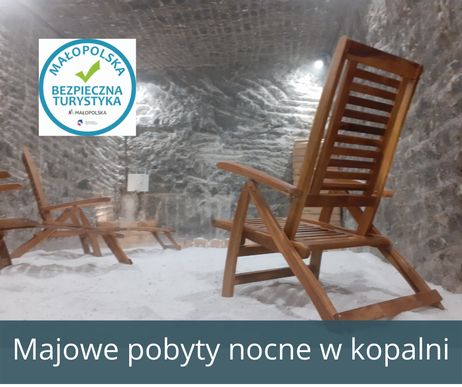 Pobyty nocne w Kopalni Soli Bochnia - maj 2021