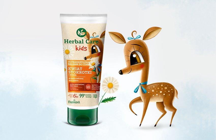 Opowieści z Łąk i Lasów. Wygraj kosmetyki Herbal Care Kids!