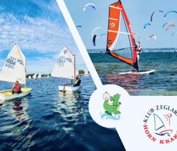 Kolonie dla początkujących małych żeglarzy i windsurfingowców z Hornem! Zapisy