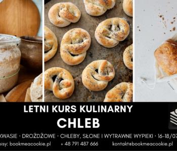 Letni kurs kulinarny: Chleb z Book me a cookie
