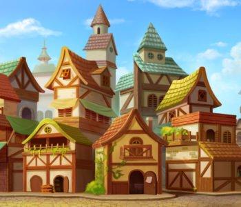 Bajkowe miasteczko
