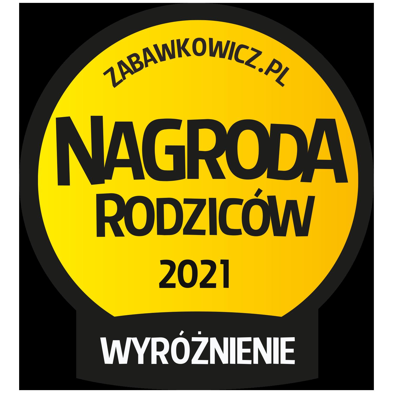 Nagroda Rodzicow Wyróżnienie 2021- logo
