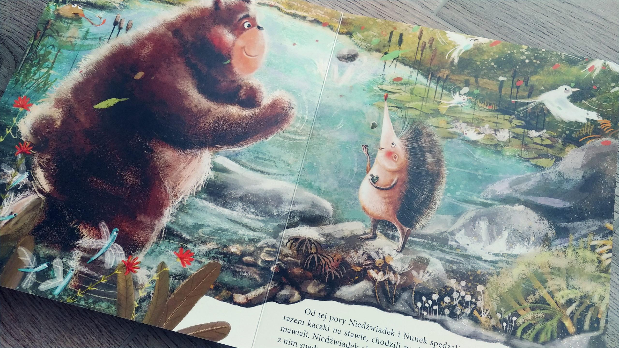 Niedźwiadek szuka przyjaciół recenzja książki dla dzieci