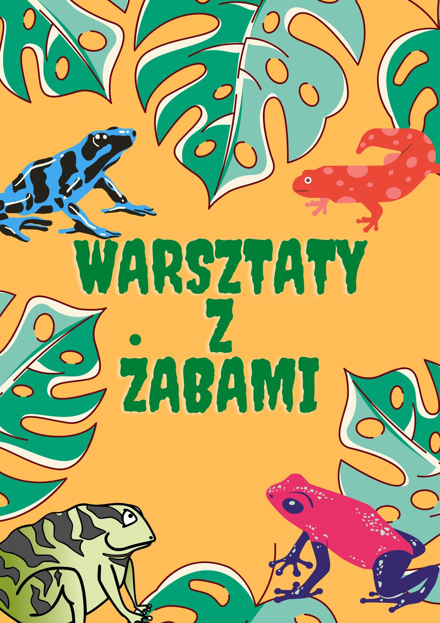 Warsztaty z Żabami - Wybierz się na Borneo z Panem Przygodą!