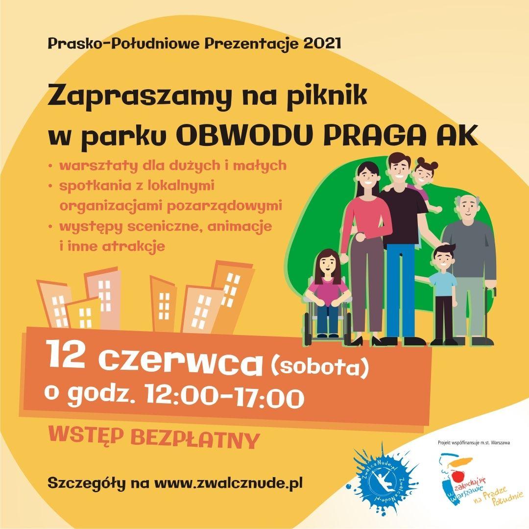 Prasko-Południowe Prezentacje 2021 - święto organizacji pozarządowych