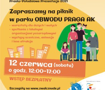 Prasko-Południowe Prezentacje 2021. Piknik organizacji pozarządowych