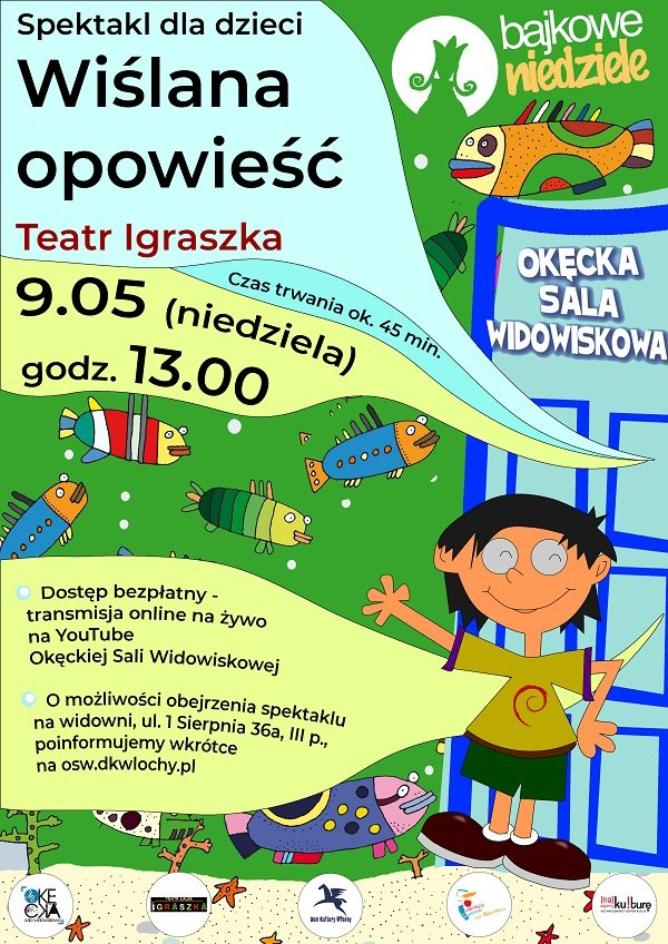 Spektakl dla dzieci Wiślana opowieść Teatru Lalek Igraszka
