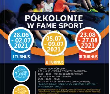 Wakacyjne półkolonie z Akademią Badmintona