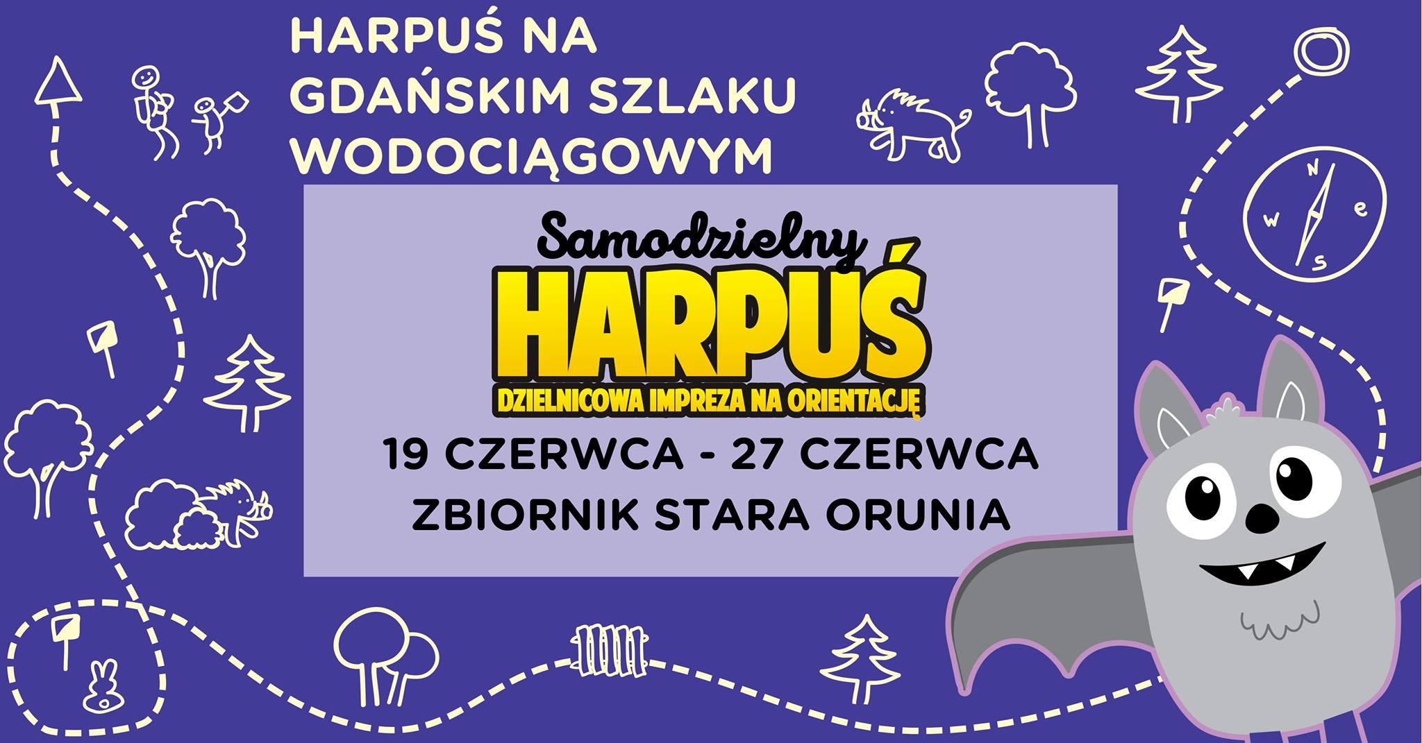 Samodzielny Harpuś - Dzielnicowa impreza na orientację: Zbiornik Stara Orunia