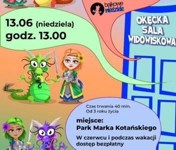 Spektakl dla dzieci: 3X Królewna, 3X Smok z cyklu Bajkowe Niedziele