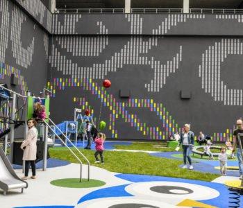 Plac zabaw pod Atrium Promenada już działa!