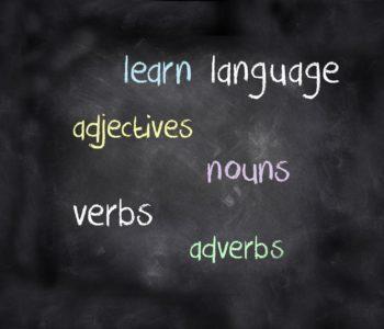 learn language verbs quiz wiedzy z angielskiego test język angielski adjectives nouns verbs adverbs czasowniki