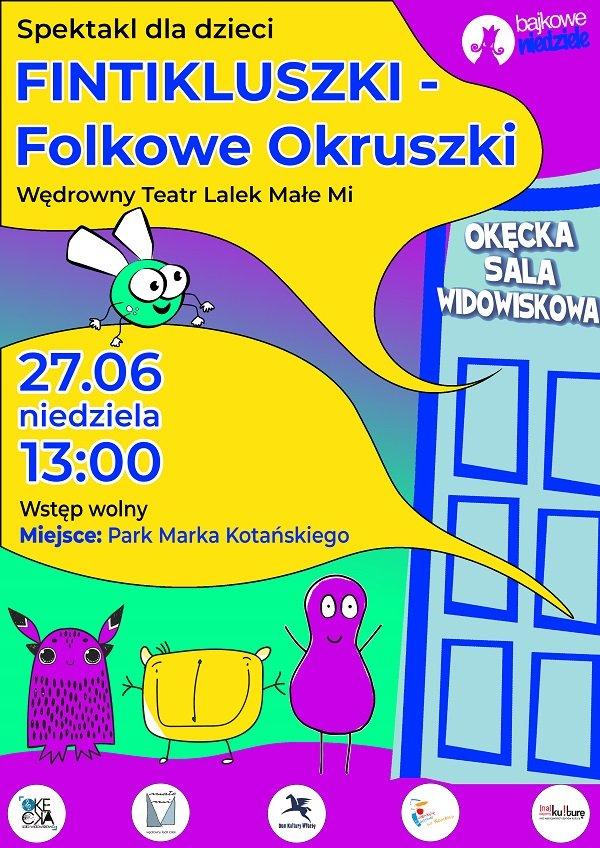 Spektakl dla dzieci: Fintikluszki - Folkowe Okruszki