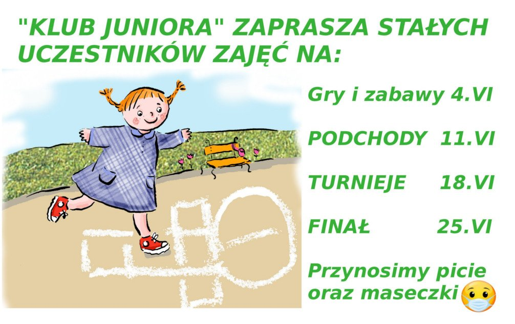 Klub Juniora zaprasza: Podchody