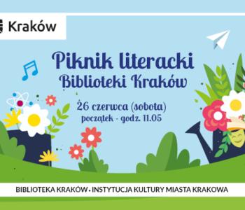 Biblioteka Kraków zaprasza na Piknik literacki