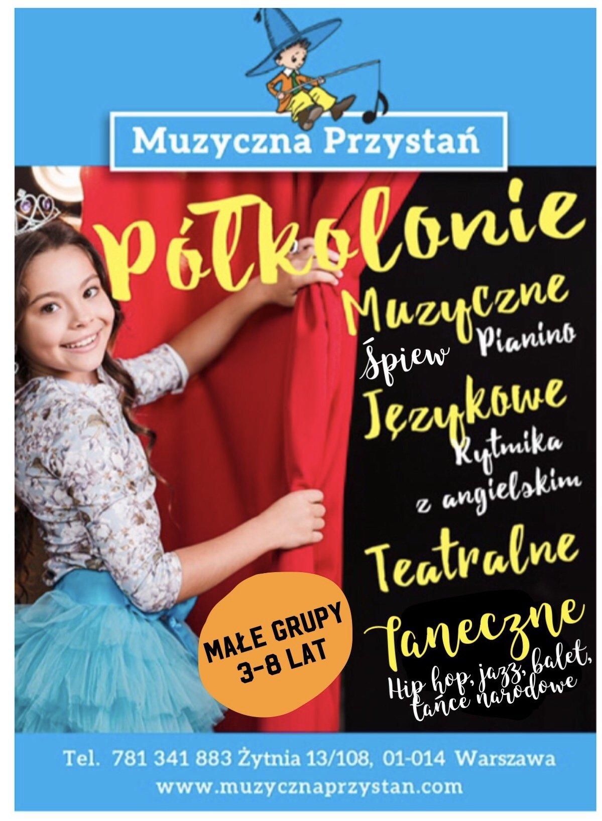 Półkolonie Muzyczno-teatralno-taneczne w fundacji Muzyczna Przystań