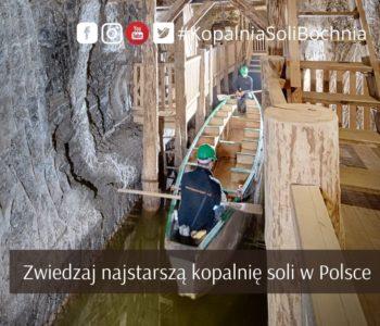 Zwiedzanie najstarszej kopalni soli w Polsce – Kopalni Soli Bochnia